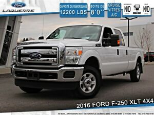 2016 Ford F-250 **XLT*4X4*CRUISE* A/C*BLUETOOTH**