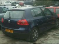 Vw golf mk5 tdi gt breaking for spares 04-08