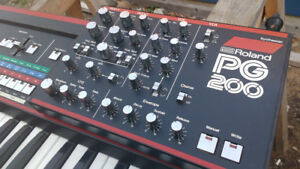 1983 JX-3P with PG-200 and case for PG-200 (ANALOG)