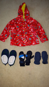 Clothing(Thomas,Super Mario), footwear,bike,rocking chair,tent