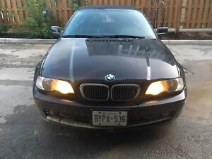 BMW 330ci convertible 2002