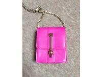 Topshop Fuschia Pink Mini Bag