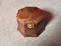 Wooden Indian Jewelry Box for Sale