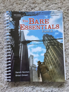 The Bare Essentials: Form A, 8th Edition