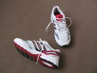 mens original adidas trainers running shoes size 10