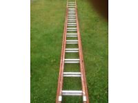 Wooden / aluminium lightweight LADDER