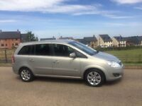 Vauxhall Zafira 1.8 16v Design Spacious 7 seater Full MOT 2 Keys Delivery available