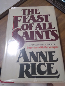 anne rice hard cover feast of all saints book club