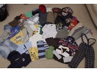 * MASSIVE CLOTHES BUNDLE * BOYS age 12 - 18months (1-1.5y) 41 ITEMS!!!