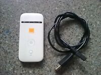 pocket wifi on orange ZTE mf65m