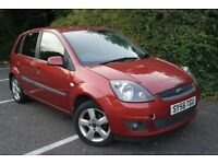 2006 Ford Fiesta Freedom spec 1 YEAR MOT LOW mileage drives GREAT ideal run about £750 catd BARGAIN!