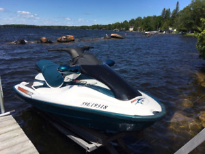 1998 tiger shark 3seater with trailer