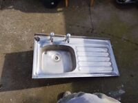 Stainless steel sink second hand
