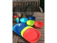 Plates/bowls/tumblers