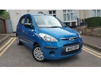 Hyundai I10 1.2 CLASSIC 5dr 2010 *17000miles* *£30 Road Tax*
