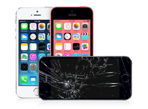 IPHONE SCREEN FIX IPHONE 5 FOR ONLY *$65**IPHONE 6  $79* ON SPOT