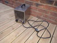 Bio Green Greenhouse heater, 2 kw, hardly used