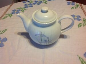 Vintage Corelle Shadow Iris Teapot