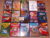 DVDS DISNEYS AND WRESTLING DVDS