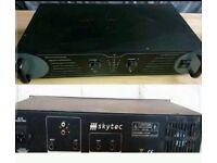 SKYTEC TEC5050 Power Amplifier 100w