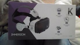 3D virtual reality goggles