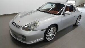 2000 Porsche 911 CARRERA 3.4 l manuel convertible, toit dur incl