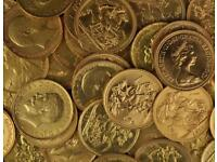 Golds sovereigns! Gold coins