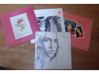 Collection of 4 Laura Nyro vinyl albums