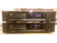 Sony CDP-770 CD Player Hifi Separate. 2 available