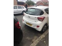 Hyundai i10 1.2 5door automatic 2014 low mileage and low tax one year mot