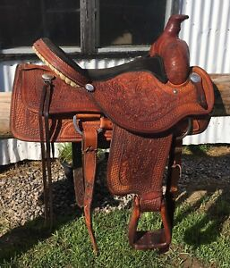 "16"" Billy Cook Roping Saddle"