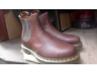 Dr Martin brown boots brand new