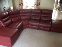Corner sofa unit