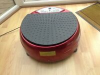 Vibrating exercise machine for sale in excellent condition