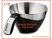 Morphy Richards Jug Scale (brand new)