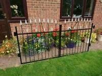 Single and double iron gates