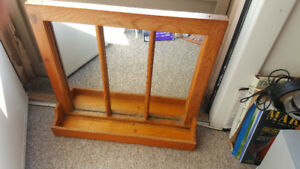 Antique window/mirror