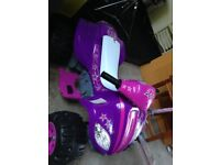 Child's electric quad *as new*