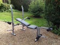 Confidence Fitness Bench with Attachments (Delivery Available)