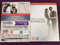 Fifty shades darker double disc DVD