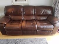 3 seater recliner