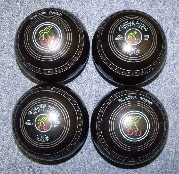 Drakes Pride Woods (Bowls) - Professional - Size 5 Medium - Stamped WB13 - Virtually unused