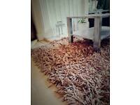 Used next rug . Fluffy, thick