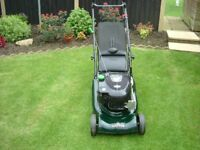 harrier hayter lawn mower