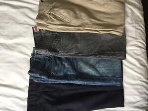 Boys size 12 pants lot