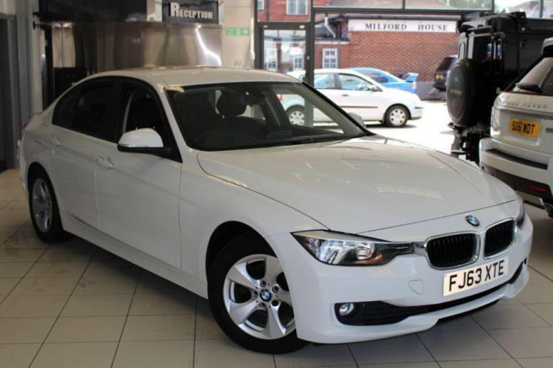 2013 63 BMW 3 SERIES 2.0 320D EFFICIENTDYNAMICS 4D AUTO 161 BHP DIESEL