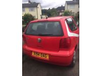 Volkswagen Polo 1.0 litre 3Dr '01 Plate - NO MOT small issue