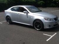 Lexus IS. 220d 6 speed manual 06 reg