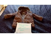 Bundle of Rocha- John Rocha 3-4 Year Boys Coats (2 items)