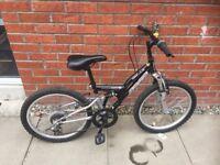Boys Apollo FS20 mountain bike